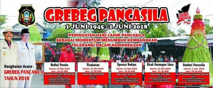 Grebeg Pancasila 2018 di Blitar