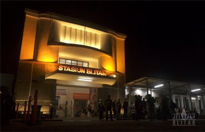 Jadwal Kereta Api di Stasiun Kota Blitar