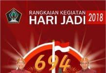 Hari Jadi Kabupaten Blitar ke 694