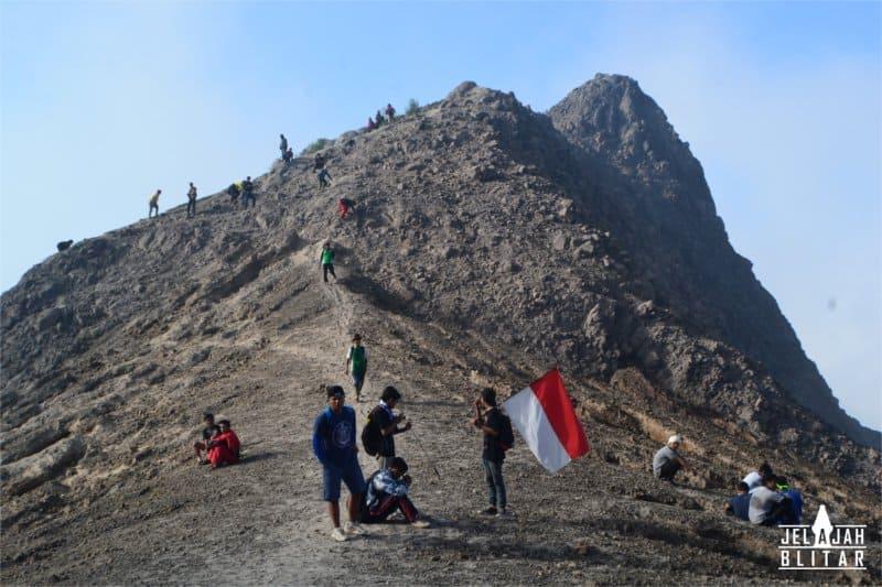 Puncak Gunung Kelud
