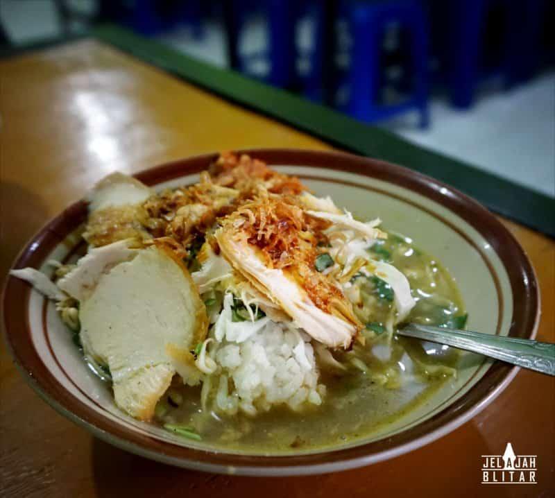 Soto Ayam Pangkru Talun