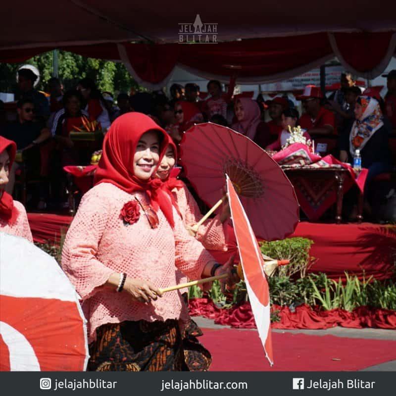 Payung Merah Putih di Karnaval Kebangsaan 2018