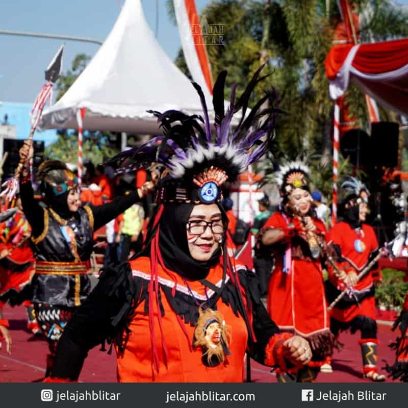 Semangat bu di Karnaval Kebangsaan 2018