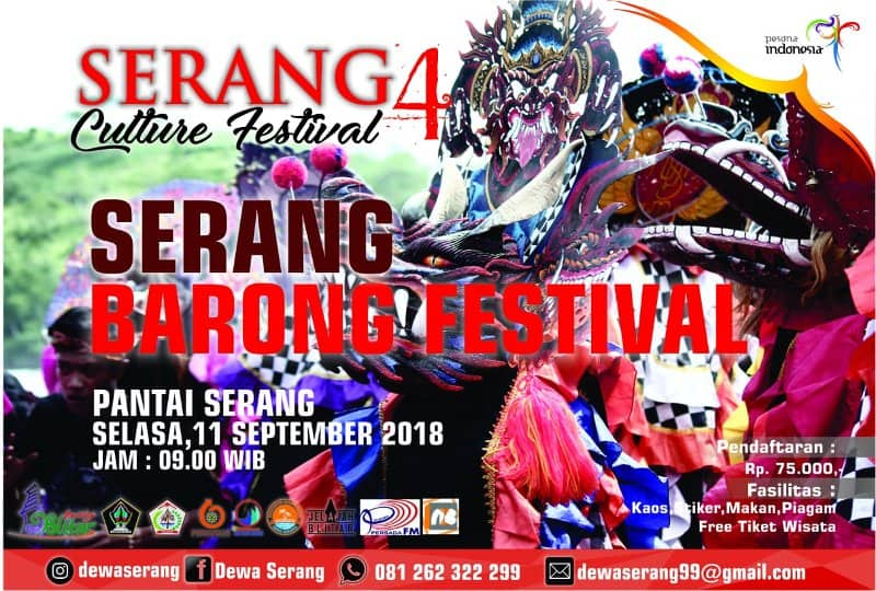 Serang Barong Festival