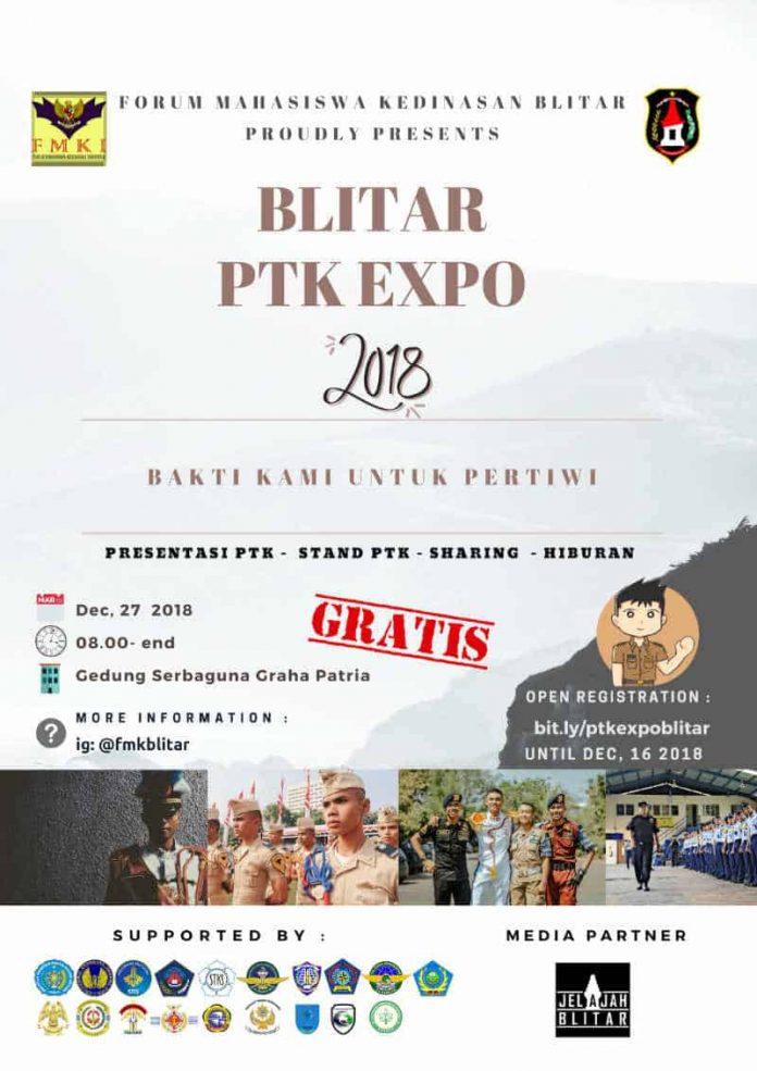 Poster Blitar PTK Expo