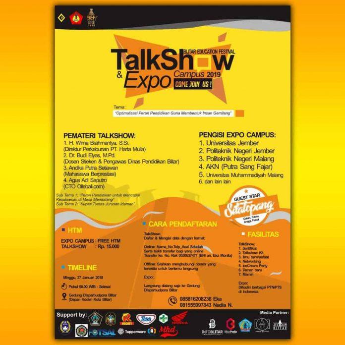Campus Expo dan Talkshow di Blitar