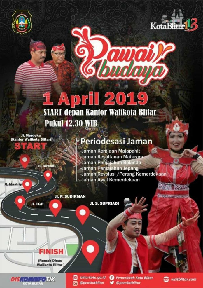 Pawai Budaya 1 April 2019