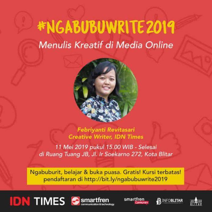 Ngabubuwrite 2019 Menulis Kreatif di Media Online