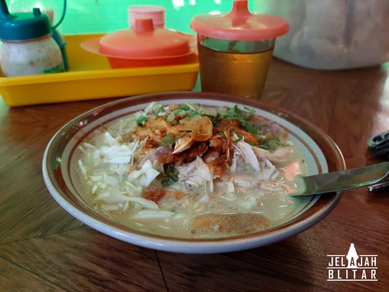 Soto Ayam Kampung Gurit di Wlingi Blitar