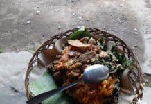Kuliner Ampok dan Tiwul